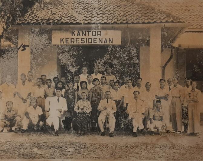 Salah satu Foto Arsip Sejarah Kantor DKPUS Babel tempo dulu. (Foto: Arsip DKPUS Babel).