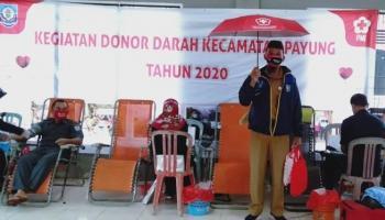 Selama 2020 Warga Payung Sumbang 400 Kantong Darah, Bisa Jadi Contoh