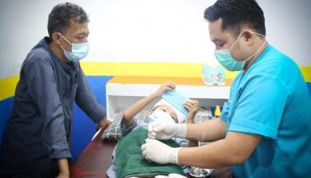 Serunya Proses Sunat Alfatif di Masa Pandemi Covid-19