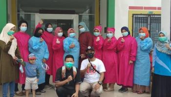 Jalani Vaksinasi Tahap I, Mardani Imbau Relawan PMI tak Takut Divaksin