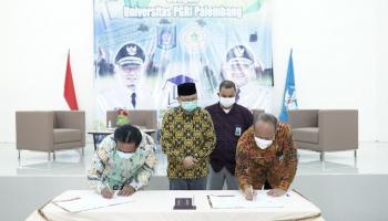 Buka Program Beasiswa S1 dan S2, Dindik Bateng Gandeng Universitas PGRI Palembang