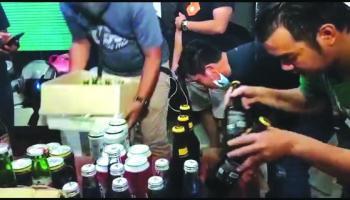 Dilaporkan Warga, Rumah Penjual Miras Digerebek Polisi