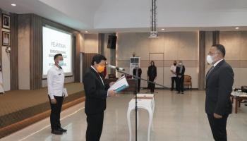 Syainuddin jadi Dirut Jamkrida, Wagub Harap Dapat Meningkatkan Pelayanan Kepada Masyarakat