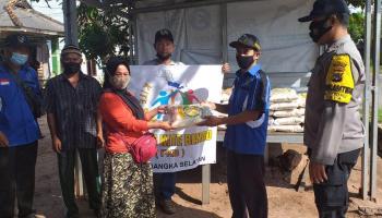 Forum Kite Behao Kembali Salurkan 3500 Kampil Beras