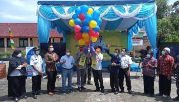 Gandeng PT. ICON Plus, Bateng Launching Internet Desa di  Pangkal Raya