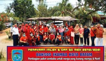 Ikatan Keluarga Masyarakat Bangka di Batam kembali Gelar Bakti Sosial ke 6 Panti