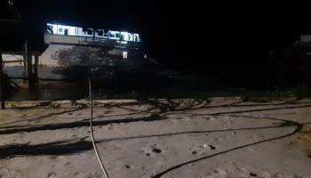 Kabel Transmisi PLN Ditabrak Kapal, Penyebab Sebagian Wilayah Pangkalpinang Gelap Gulita