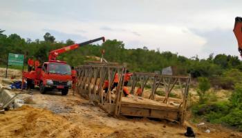 Kepala BPBD:  Babel Perlu Tambahan Jembatan Bailey