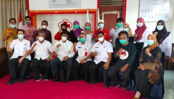 Komisi I DPRD Bateng Pelajari Pelayanan dan Manajemen PMI Bangka