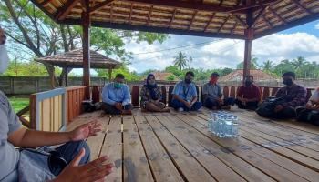 Lewat CSR PT Timah, Kelompok Selepuk Indah Bisa Budidayakan Udang Galah