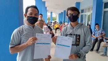 PWI Bateng Apresiasi Pemerintah Pemberian Vaksin Covid-19 untuk Wartawan