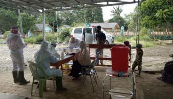 Tracking Kontak Erat Kluster Temboro di Simpang Rimba, 50 Rapid Test 3 Reaktif