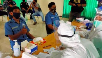 178 Karyawan Wasprod IV PT Timah Toboali Dirapid Test, Hasilnya Non Reaktif